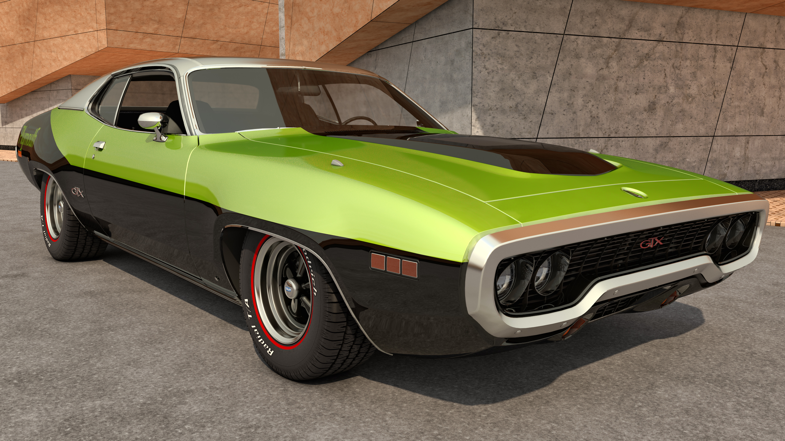 1971 Plymouth Gtx By Samcurry On Deviantart