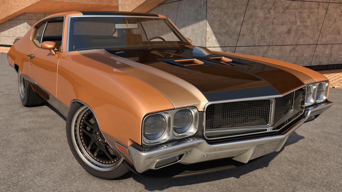 1970 Buick GSX by SamCurry