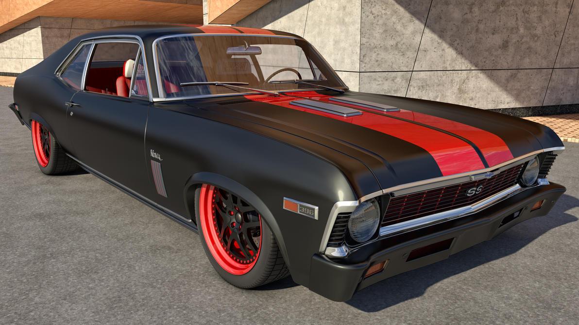 All Chevy black chevy nova ss : 1969 Chevy Nova SS by SamCurry on DeviantArt
