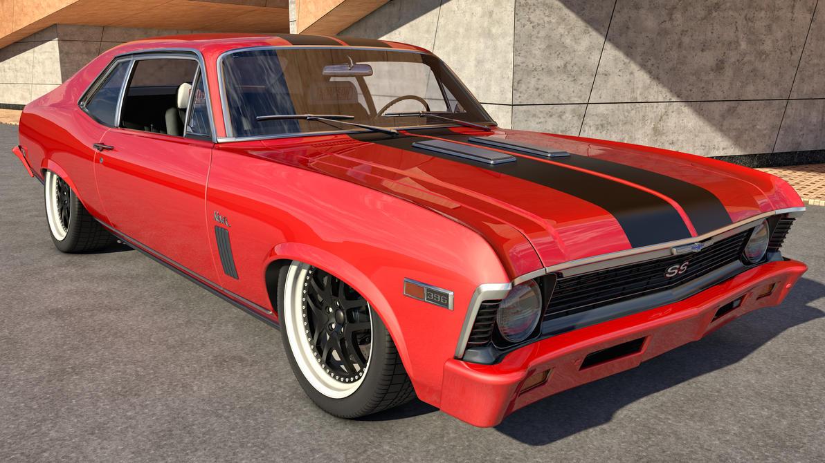 1969 Chevy Nova SS by SamCurry