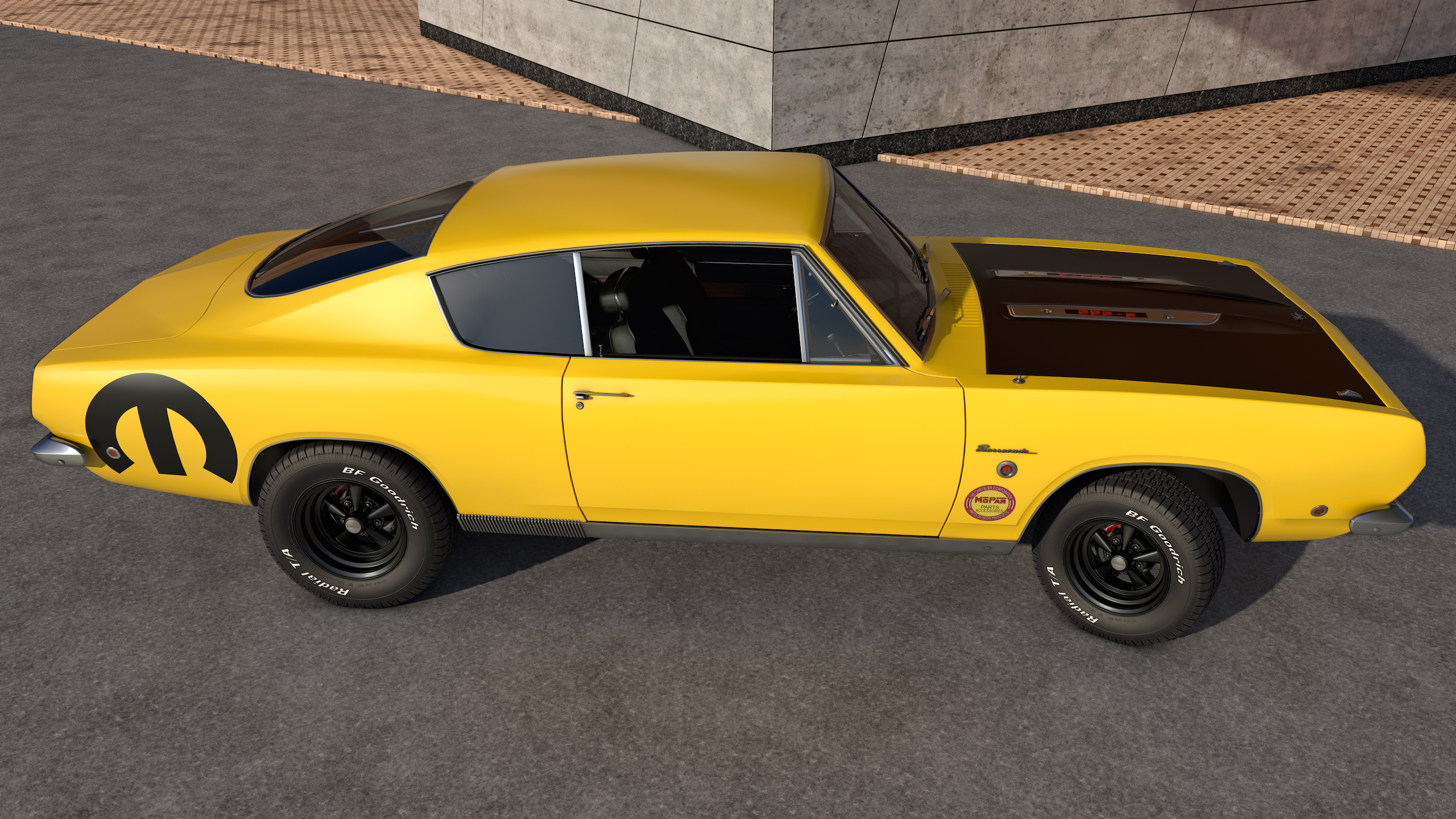 1968 Plymouth Barracuda by SamCurry