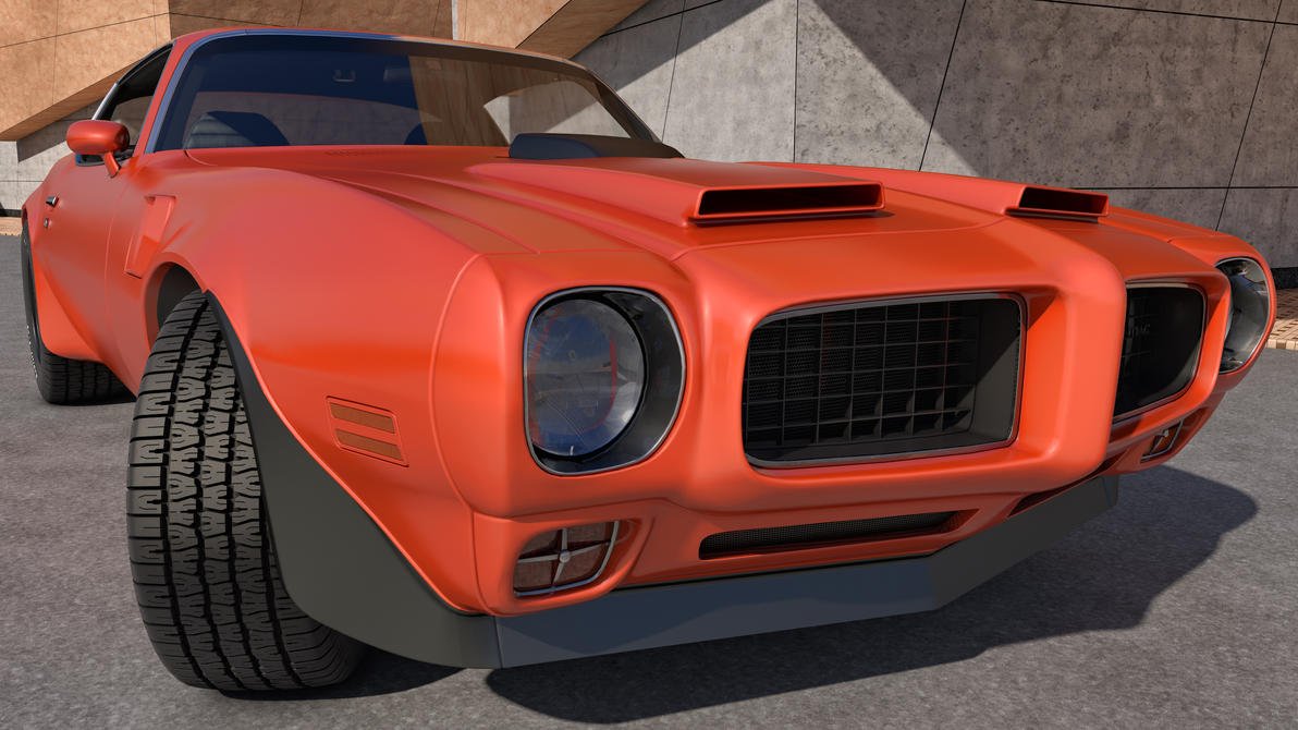 1973 Pontiac Trans Am By Samcurry On Deviantart