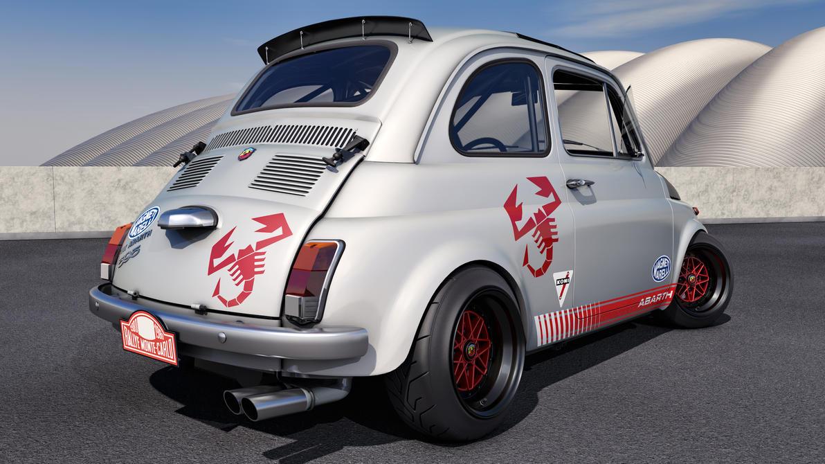 1968 Fiat Abarth 595 By Samcurry On Deviantart