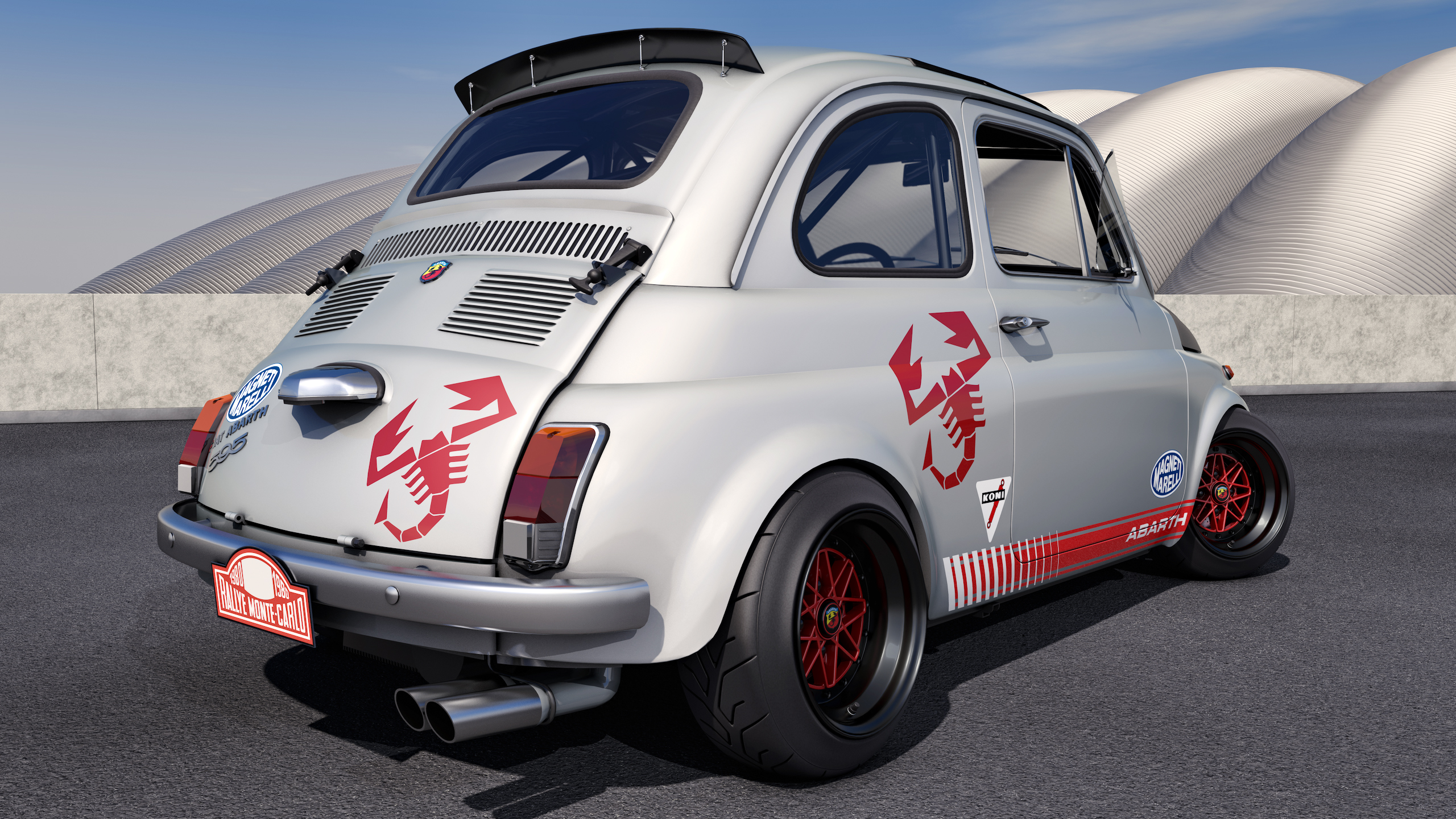1968 Fiat Abarth 595 By Samcurry On Deviantart