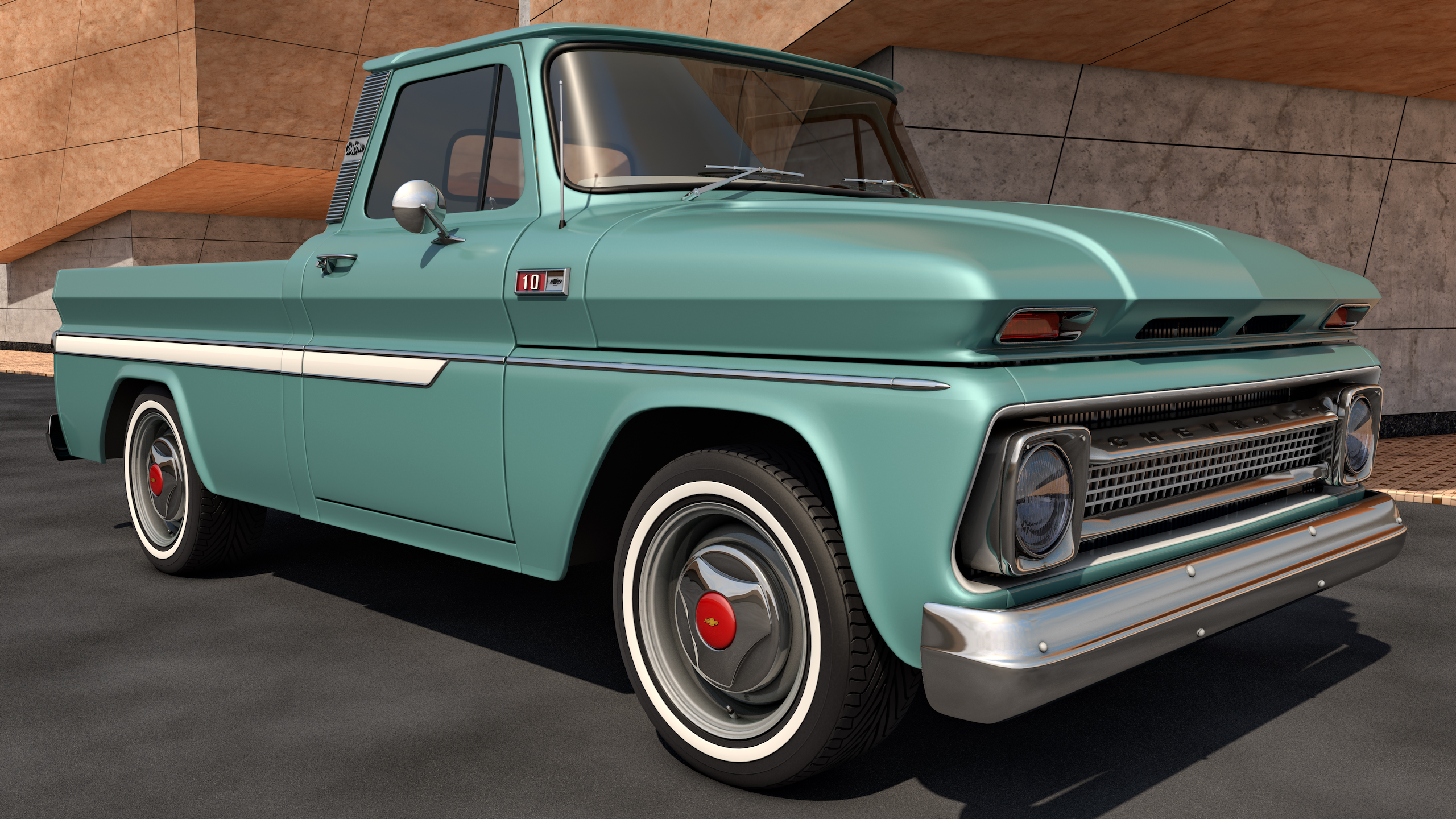 chevy truck 1965 - photo #46