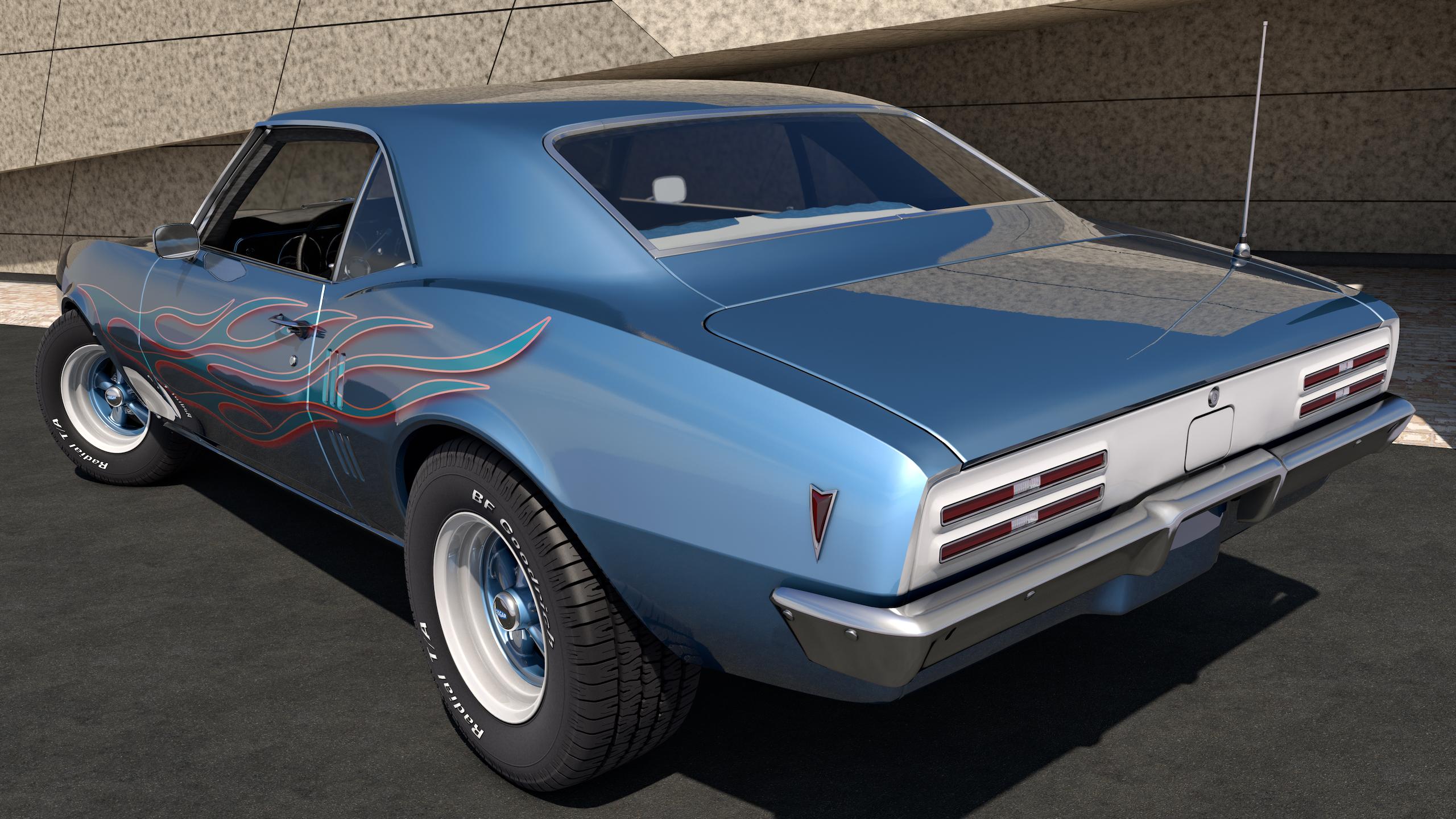 1968 Pontiac Firebird 400 by SamCurry