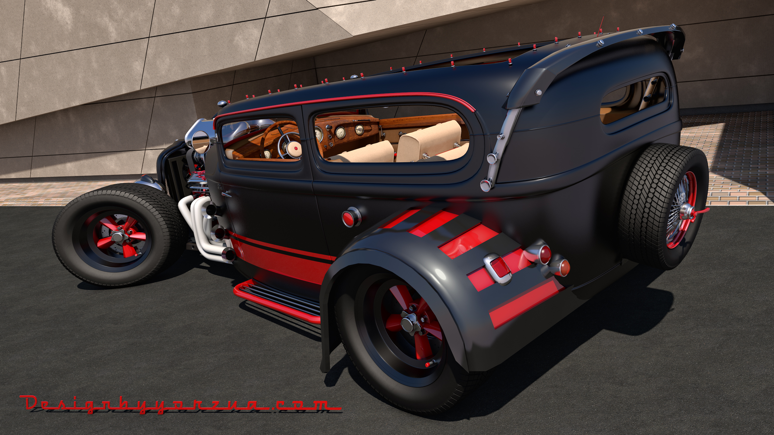 Ford Custom Hot Rod by SamCurry on DeviantArt