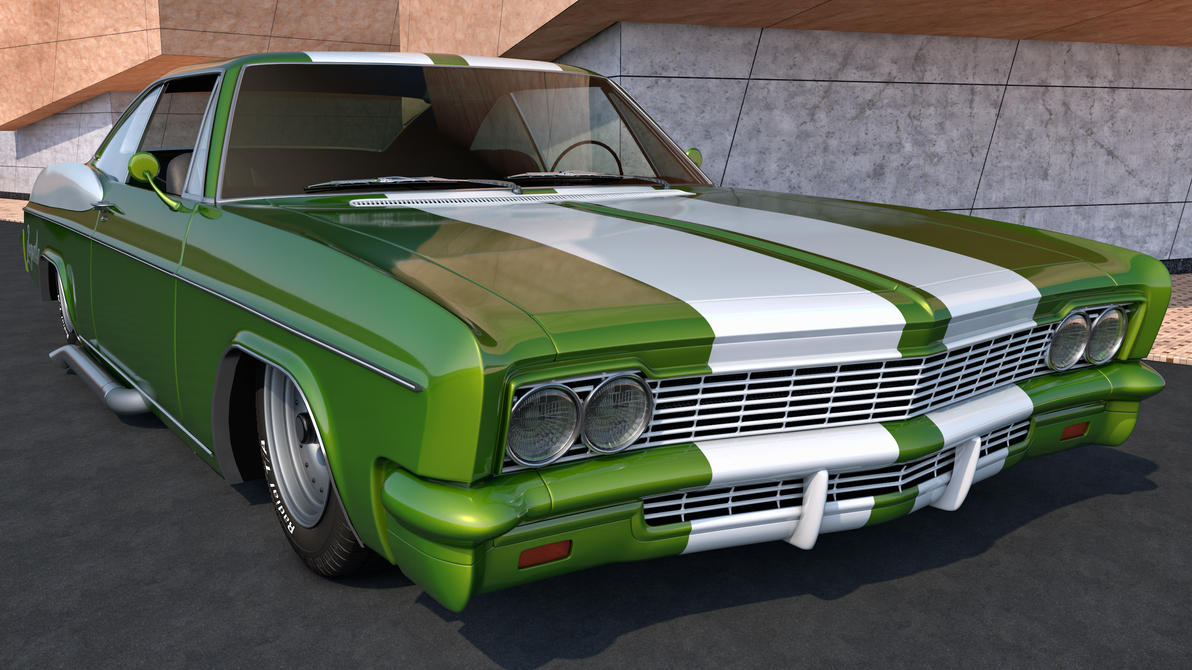 1966 Chevrolet Impala Ss Sport Coupe By Samcurry On Deviantart Chevy 427