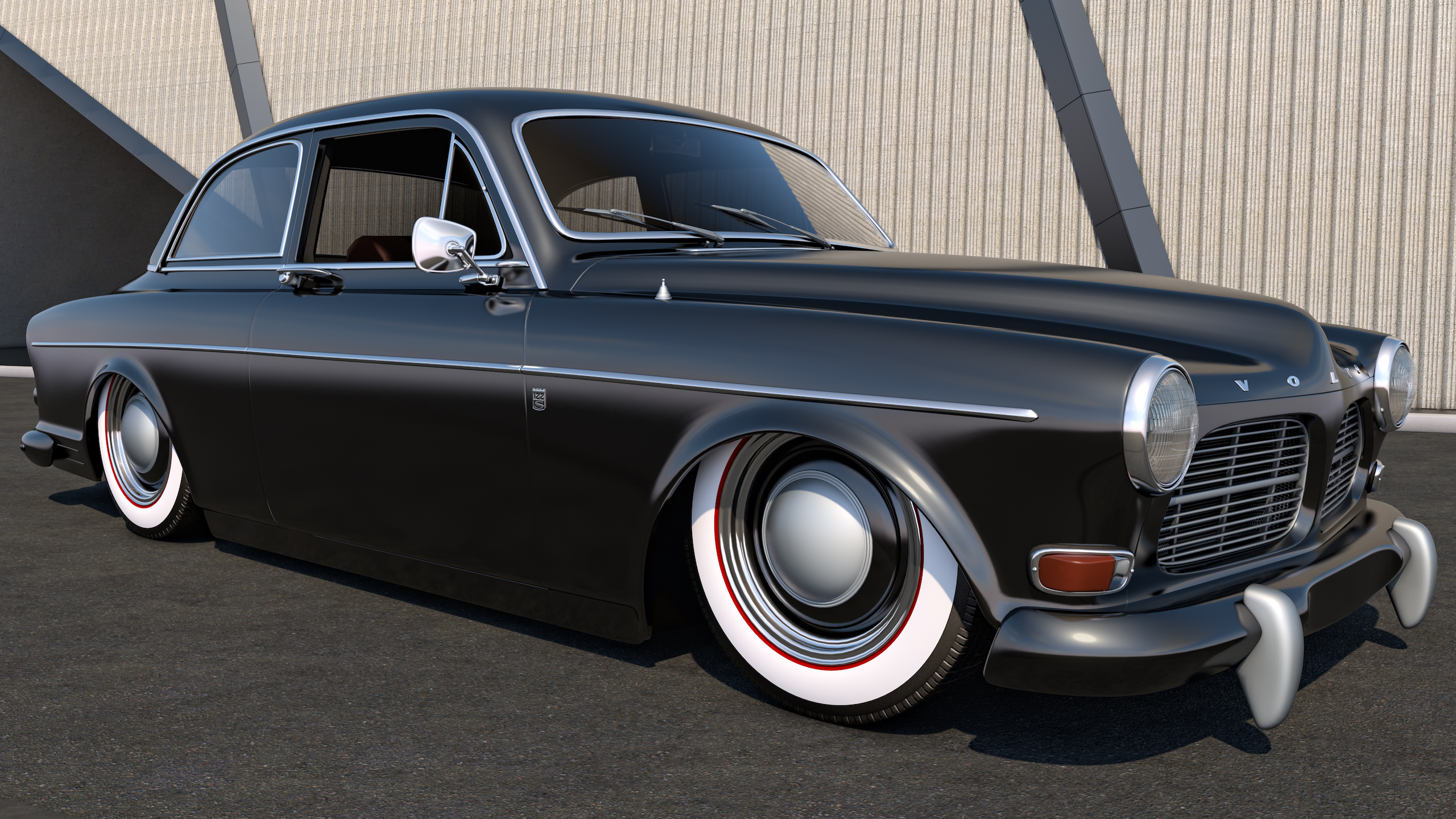 1961 Volvo Amazon Coupe By Samcurry On Deviantart