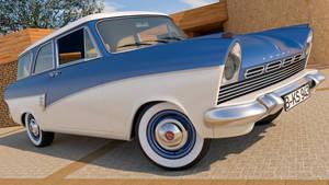 1957 Ford Taunus 17M P2