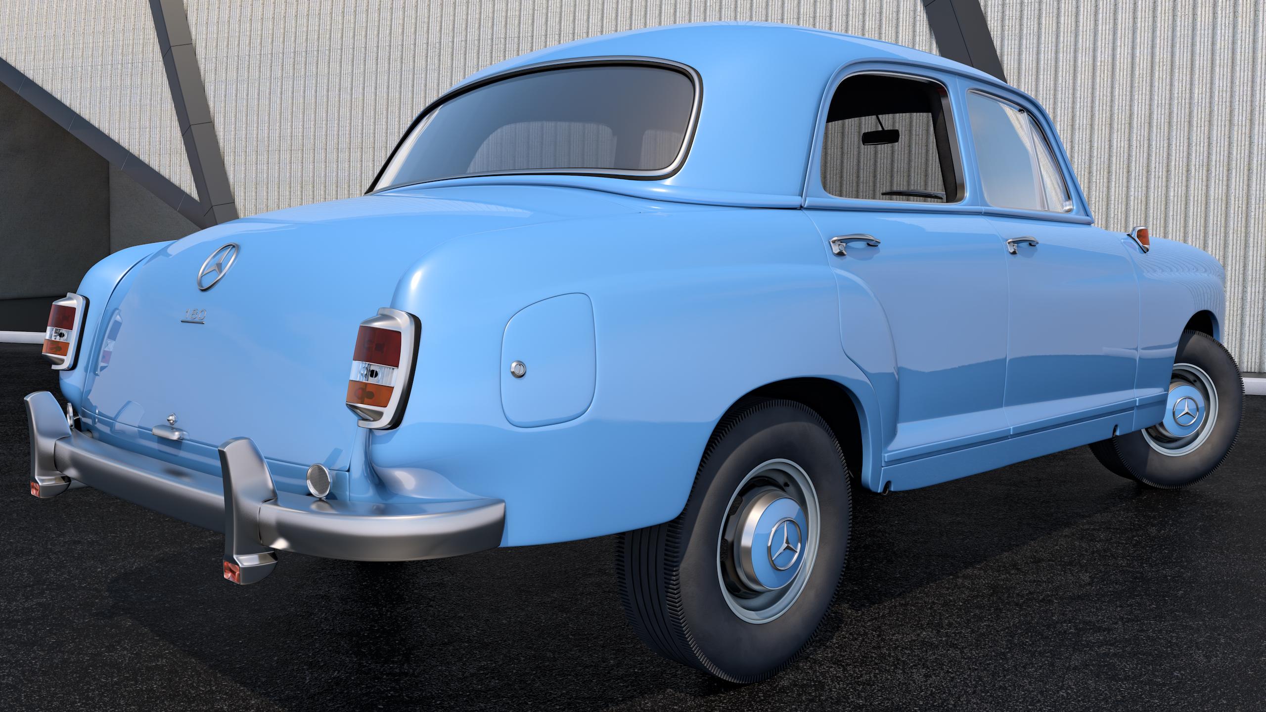 1953 mercedes benz 180 by samcurry on deviantart for 1953 mercedes benz