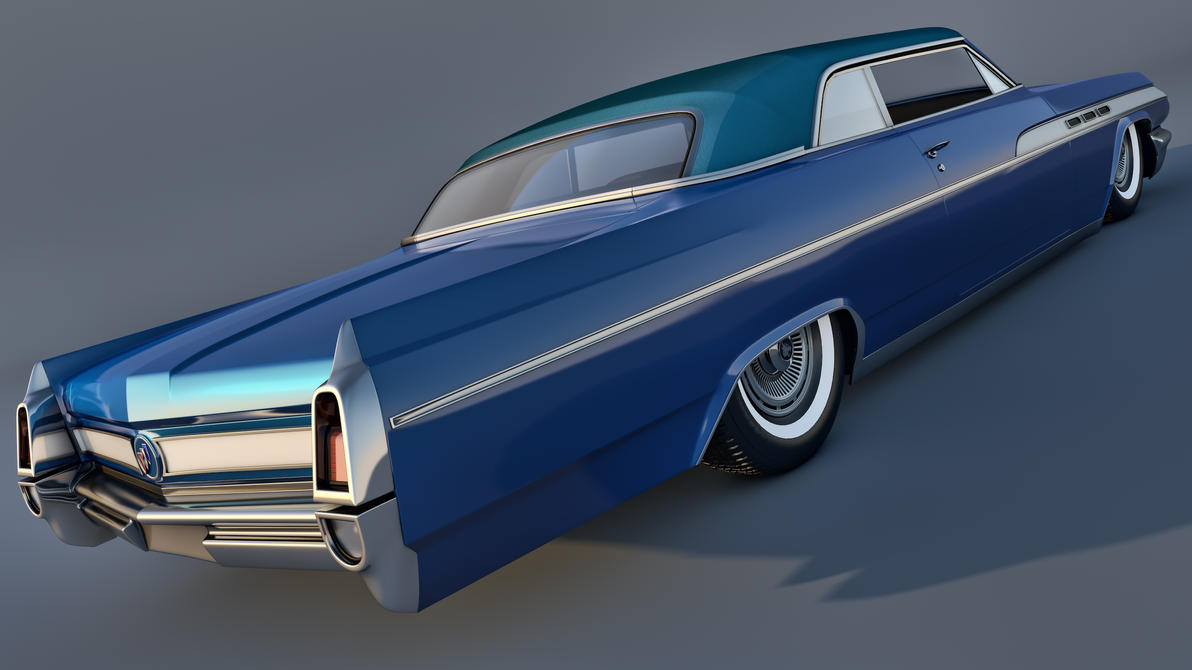 1963 Buick Wildcat Mk1 Convertible By Samcurry On Deviantart