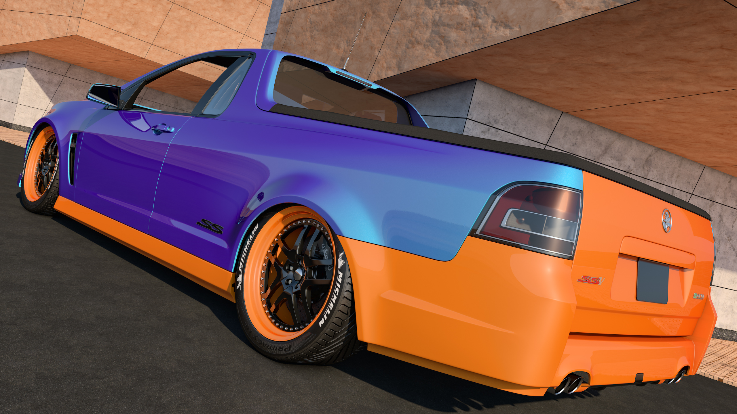 2014 holden vf commodore ute ssv by samcurry on deviantart 2014 holden vf commodore ute ssv by samcurry vanachro Images