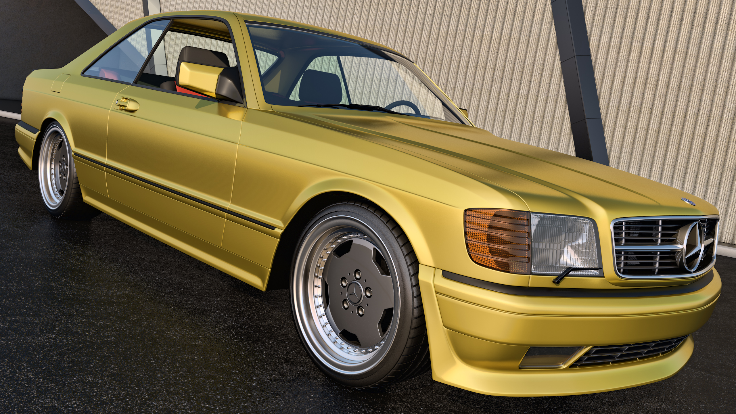 1991 mercedes benz 560 sec amg by samcurry on deviantart