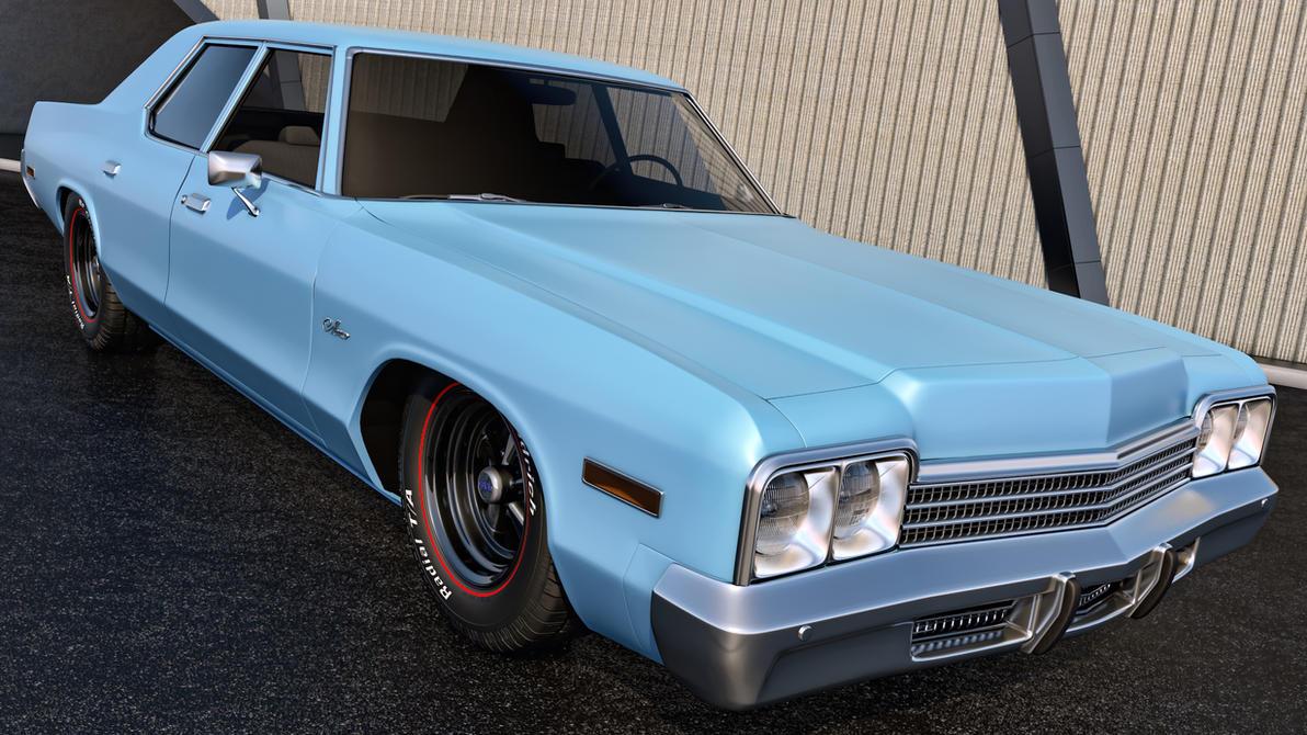 1974 Dodge Monaco by SamCurry on DeviantArt