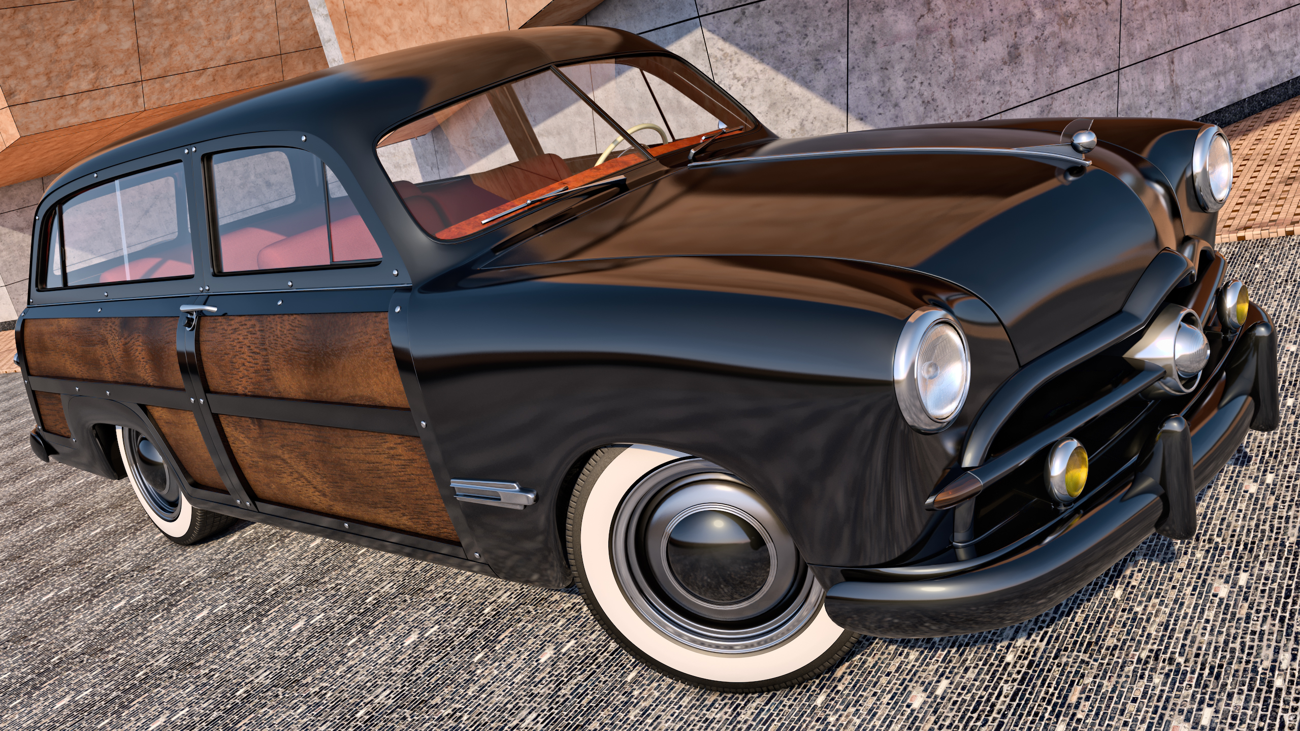 1949 Ford Woody Station Wagon By Samcurry On Deviantart 1941 Plymouth
