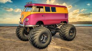 VW Monster Camper