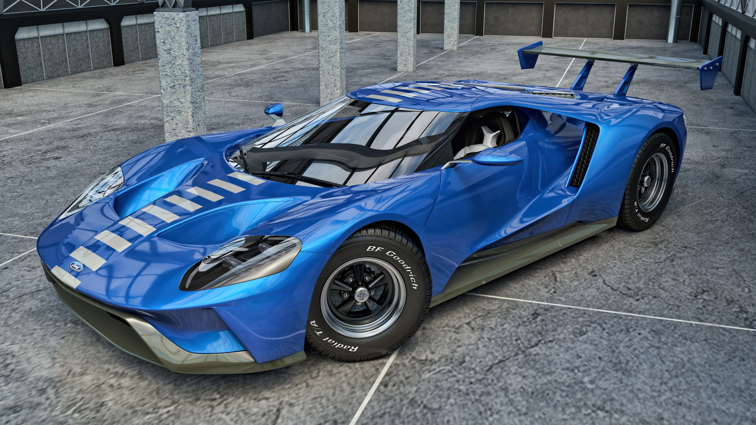 Ford Gt By Samcurry  Ford Gt By Samcurry