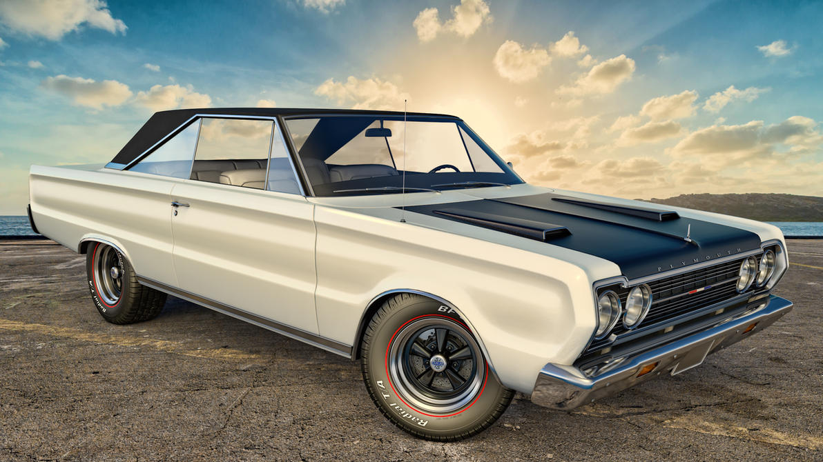 Classic Muscle Cars Toys