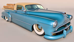 1949 Pontiac Streamliner Six Sedan Custom
