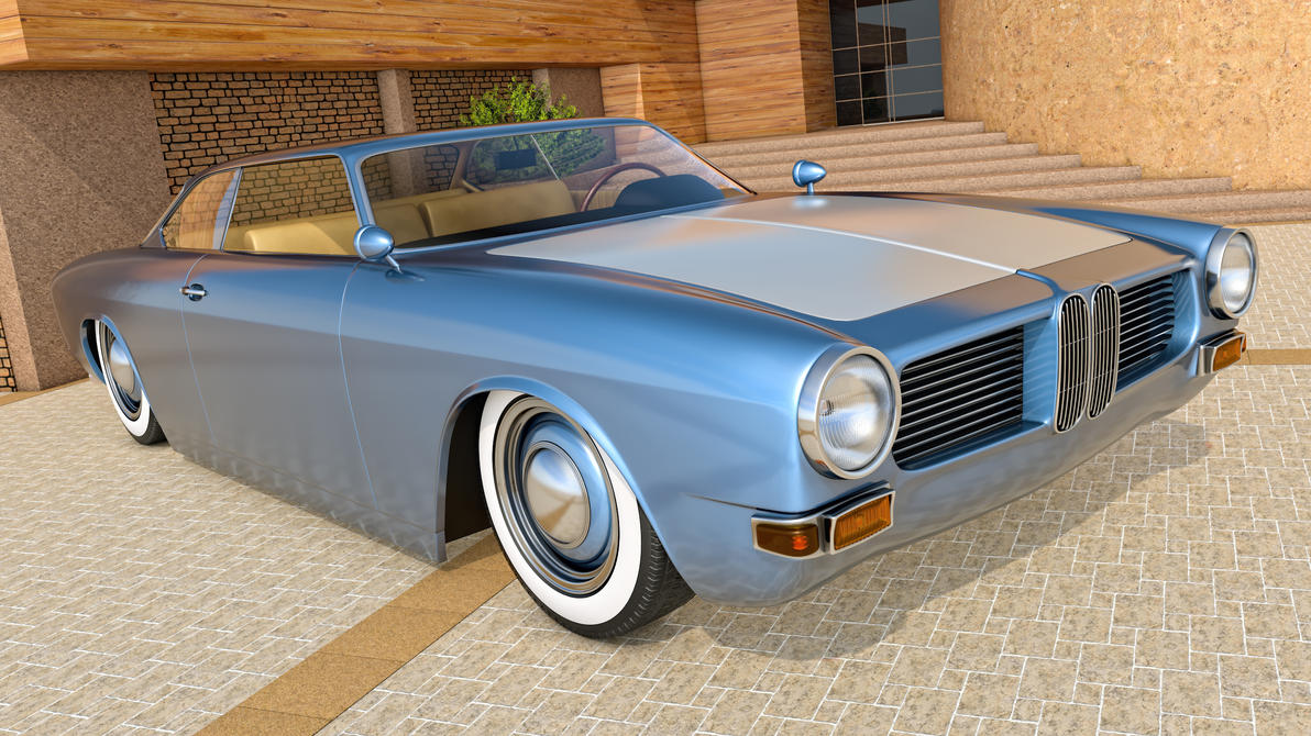 1962 BMW 3200 CS Coupe by SamCurry on DeviantArt