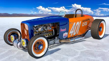 Salt Lake Racer by SamCurry