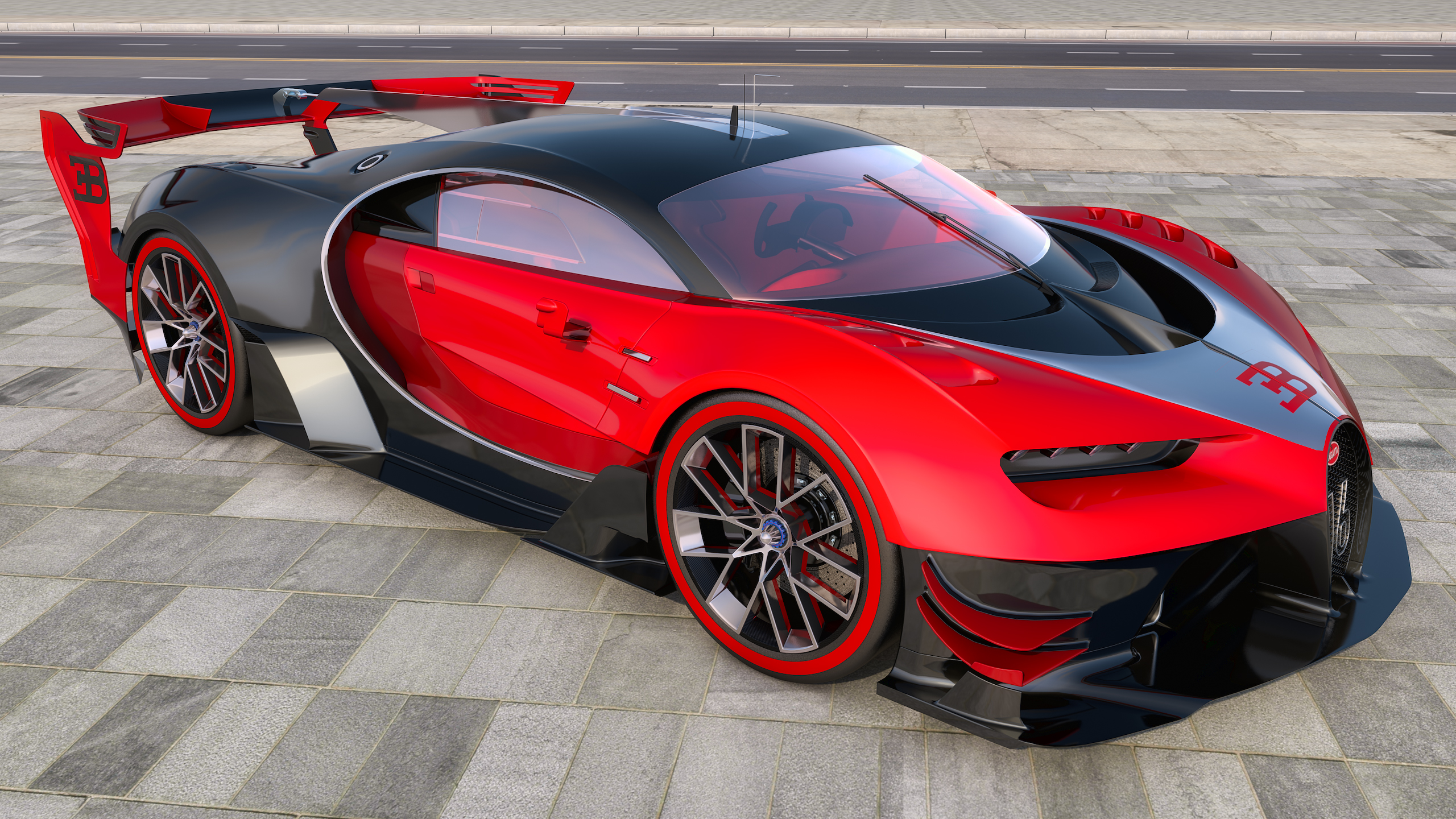 2015 Bugatti Vision Gran Turismo Concept by SamCurry on ...