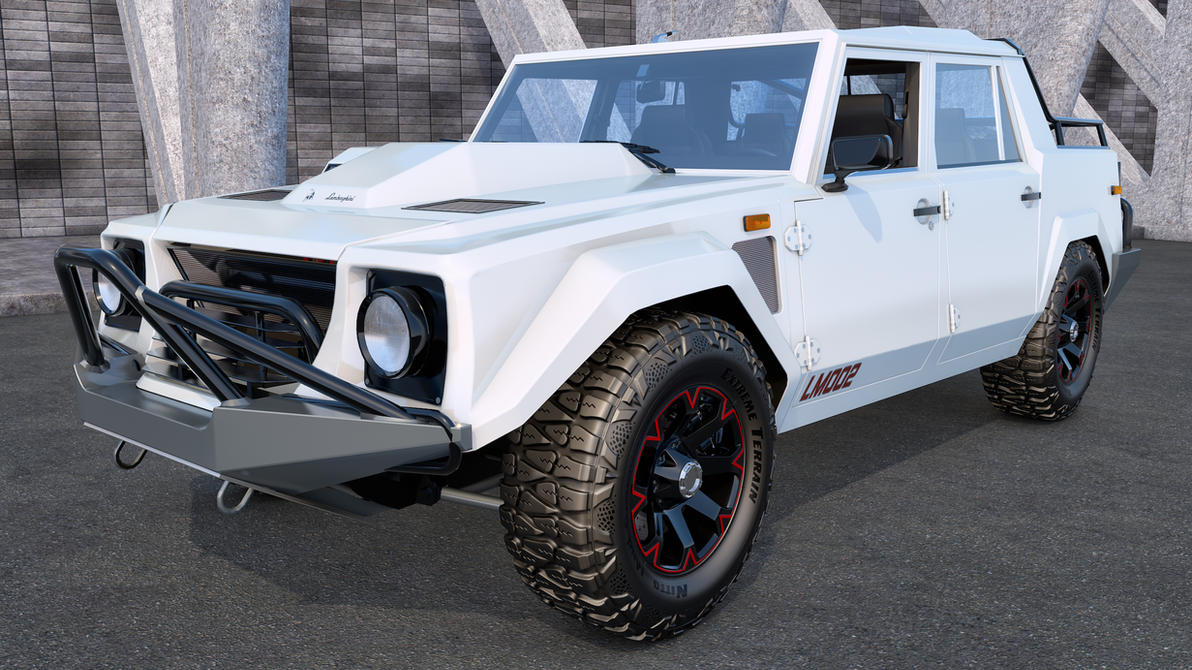 1986 Lamborghini LM002 by SamCurry on DeviantArt