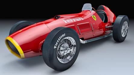 1952 Ferrari 375 by SamCurry