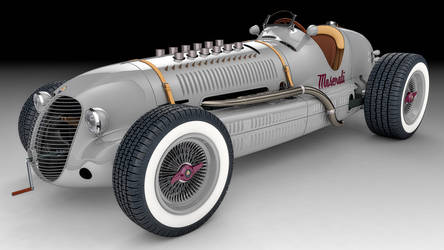 1939 Maserati 8CTF by SamCurry