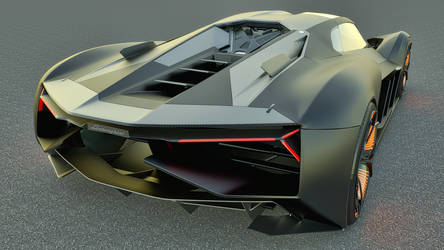 2017 Lamborghini Terzo Millennio Concept