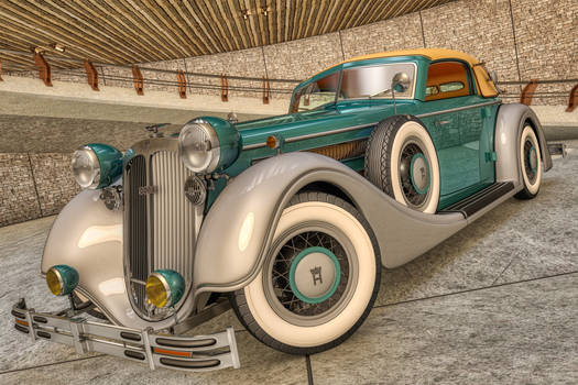 1937 Horch 853A Sport Cabriolet