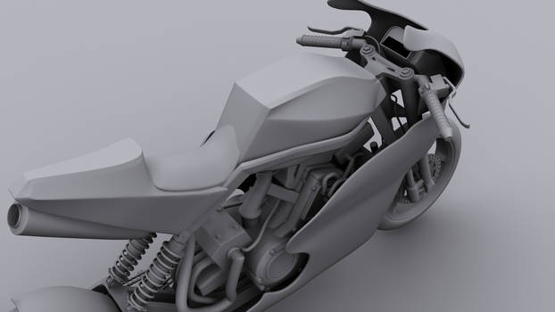 Another clay render