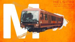 Helsinki Metro by Cnopicilin