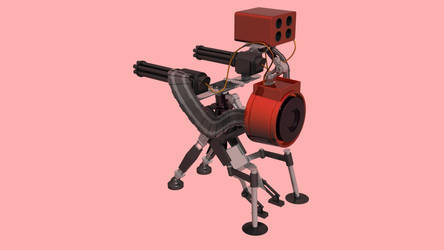 Team Fortress 2: Level 3 Sentry Gun