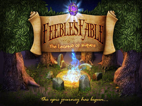 Feeble's Fable: The Legend of Runes