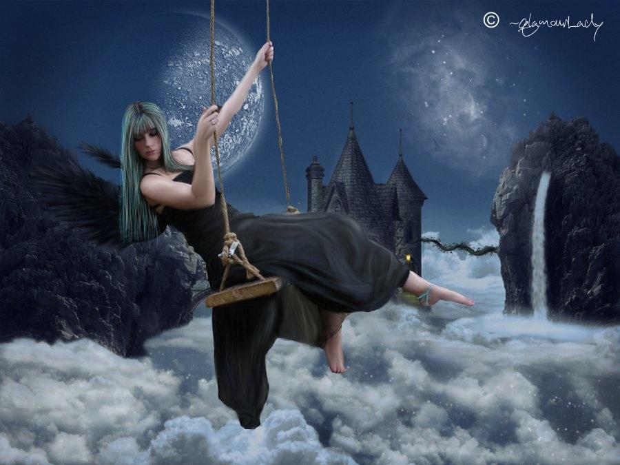 fallen angel by qlamourLady