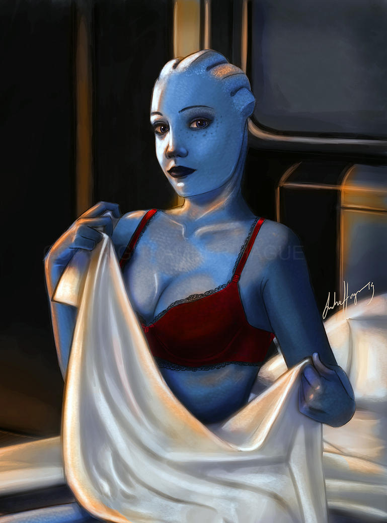 Mass effect liara bound gagged stories hentai photos