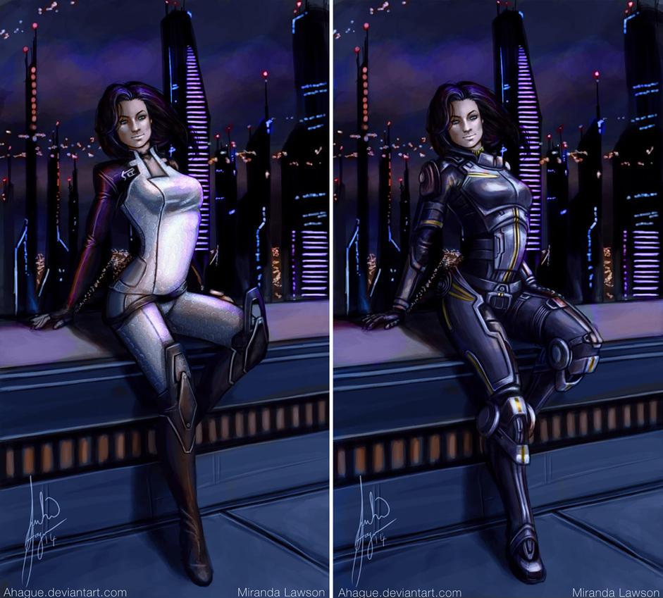Mass Effect's Miranda by Ganassa on DeviantArt