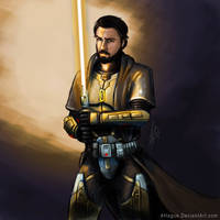 Dutchface as a Jedi from SWTOR by AHague