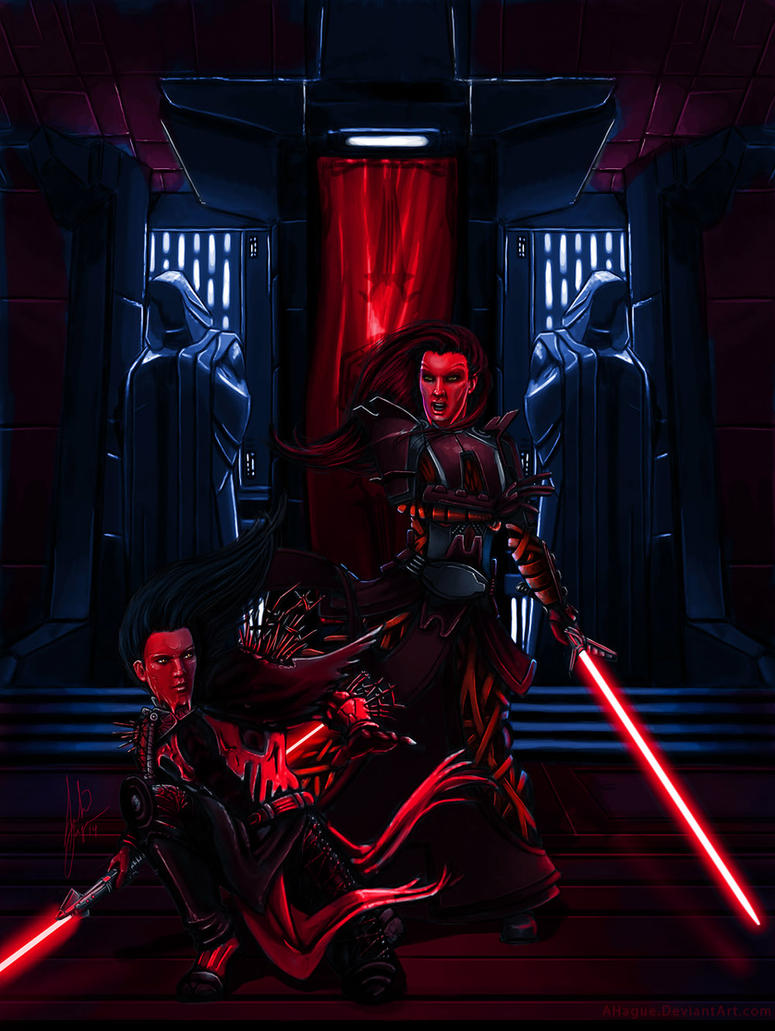Sith dueling by AHague on DeviantArt