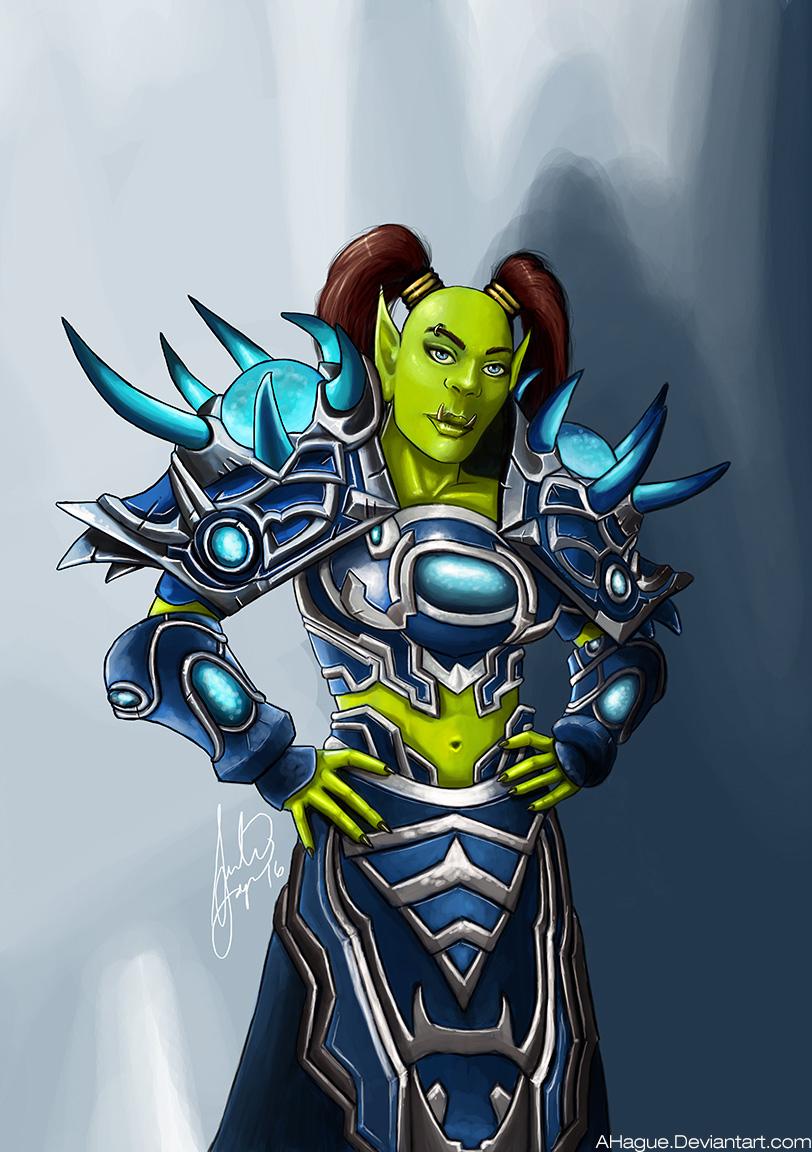 Magdalar The Orc Shaman World Of Warcraft By Ahague On Deviantart