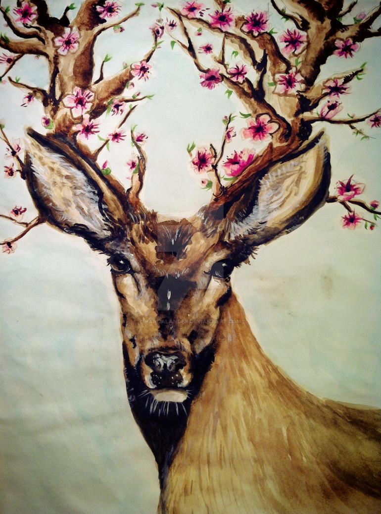 Deer Spring by PandaLander