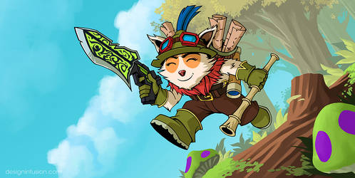 League of Legends: Teemo by spreston