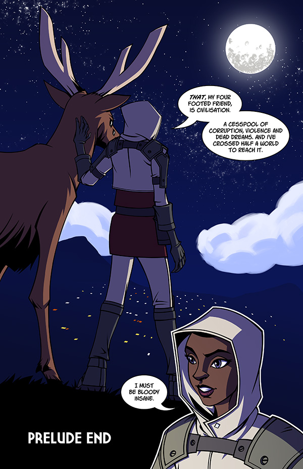A Last Hurrah for Chivalry: Prelude Page 12 by spreston