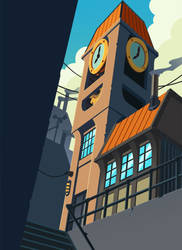 Skyward: Maker Clocktower by spreston