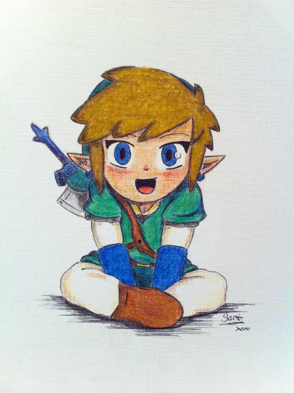 Link Chibi (Skyward Sword) by Alibax-Sombre