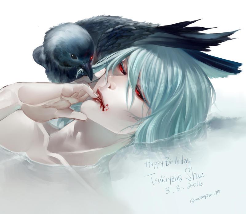 Tsukiyama birthday 2016 by CottonCandyStar