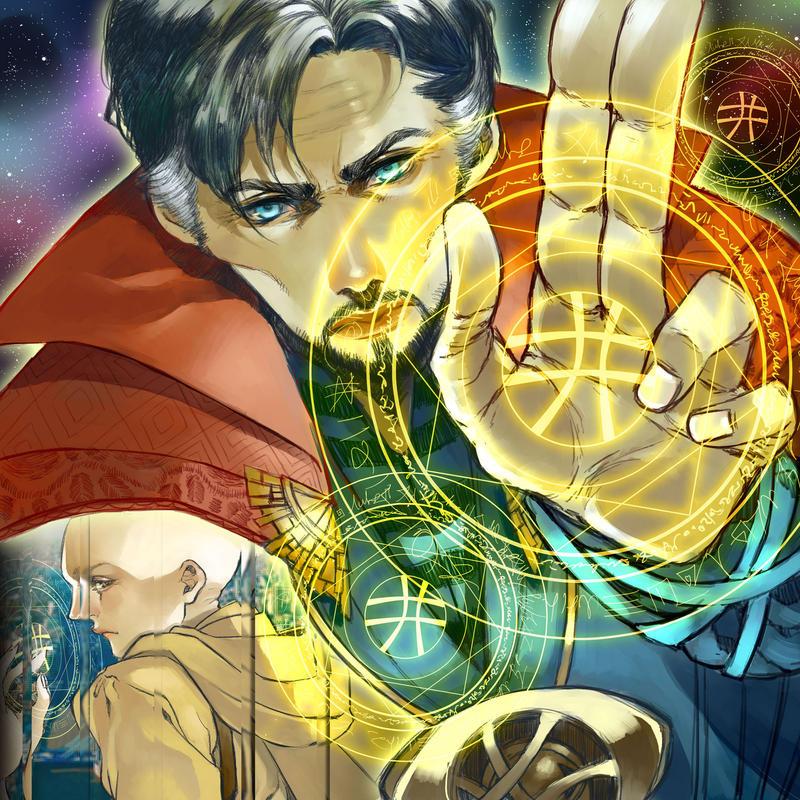 Dr. Strange by CottonCandyStar
