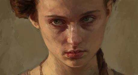 Sansa stark by Unilt